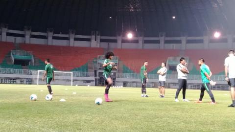 Tujuh Pemain Timnas Senior Absen di Latihan Perdana