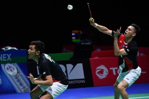 Fajar/Rian Susul Ahsan Hendra ke Perempat Final