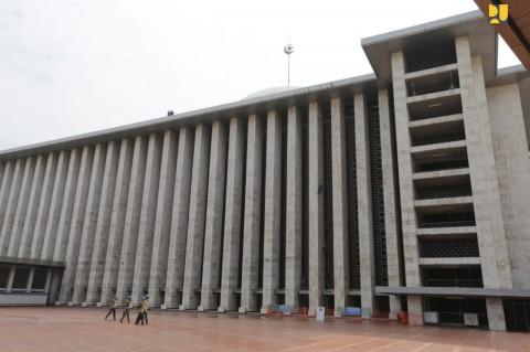 Direnovasi, Masjid Istiqlal Lebih Kinclong dan Ramah Difabel