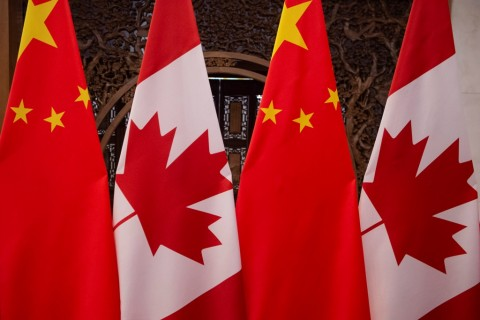Kanada Larang Perjalanan Staf Konsulat Hong Kong ke Tiongkok