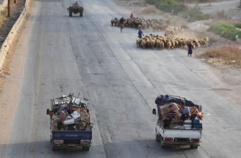 Suriah Buka Koridor Kemanusiaan bagi Warga di Idlib
