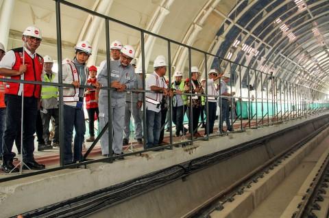 Rini Soemarno: LRT Cibubur-Cawang Beroperasi November