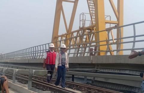 LRT Cawang-Cibubur Siap Beroperasi Komersial Akhir Oktober