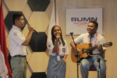 Kenali Lebih Dekat BUMN, SMN Asal Maluku Kunjungi Kantor Kementerian BUMN
