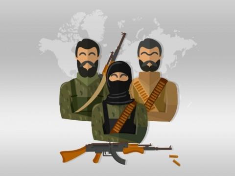 Densus 88 Tangkap Dua Terduga Teroris Bom Thamrin