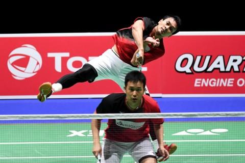 Ahsan/Hendra Mulus ke Semifinal Kejuaraan Dunia