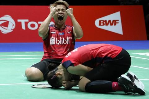 Greysia/Apriyani Tatap Semifinal Kejuaraan Dunia