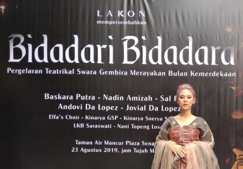 Nadin Amizah Nilai Indonesia Belum Sepenuhnya Merdeka