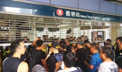 Operasi Kereta Hong Kong Ditutup Jelang Aksi Protes