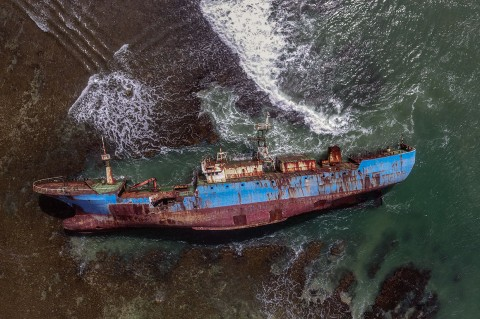 MV Viking Jadi Monumen Pemberantasan Illegal Fishing