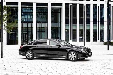 Intip Kecanggihan Mercedes-Benz Maybach S600 Guard, Calon Mobil Kepresidenan Jokowi