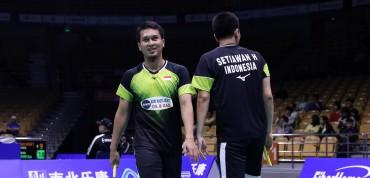 Menangi Perang Saudara, Ahsan/Hendra ke Final Kejuaraan Dunia