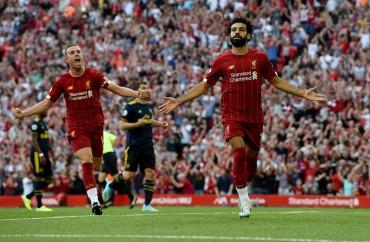 Liverpool Pecundangi Arsenal di Anfield