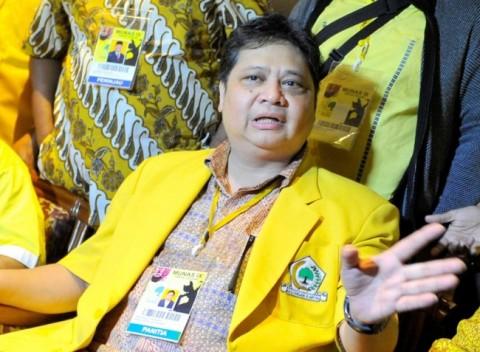 Airlangga Janji Rampungkan Pembangunan Gedung DPP Golkar
