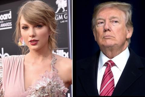 Taylor Swift Kritik Gaya Kepemimpinan Donald Trump