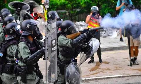 Protes Hong Kong Kembali Berakhir dengan Kerusuhan