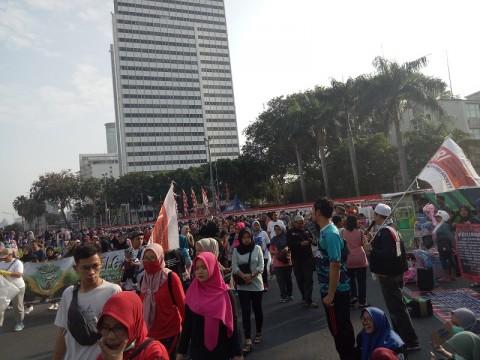 Peserta CFD Jakarta Hirup Udara Tak Sehat