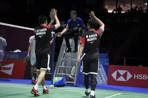 Ahsan/Hendra Wakili Indonesia di Final Kejuaraan Dunia