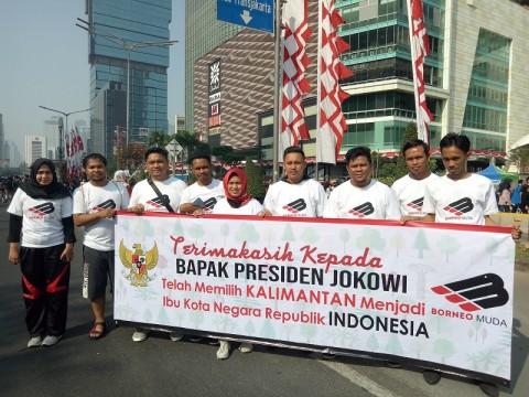 Pemuda Kalimantan Dukung Pemindahan Ibu Kota