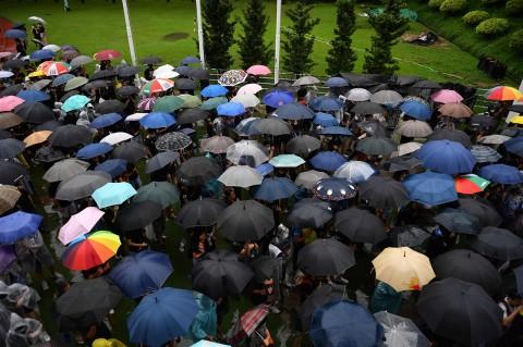 Usai Bentrok, Massa Kembali Berkumpul di Hong Kong
