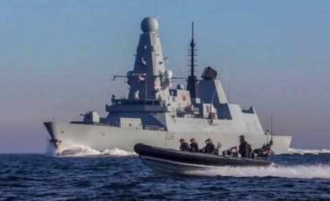 Inggris Tambah Kapal Perang Lindungi Tanker dari Iran