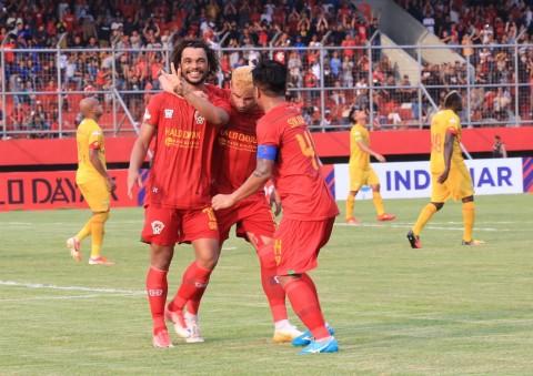 Hattrick Hedipo Bantu Kalteng Putra Tundukkan Bhayangkara FC