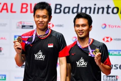 Hendra/Ahsan Juara Dunia Ganda Putra 2019