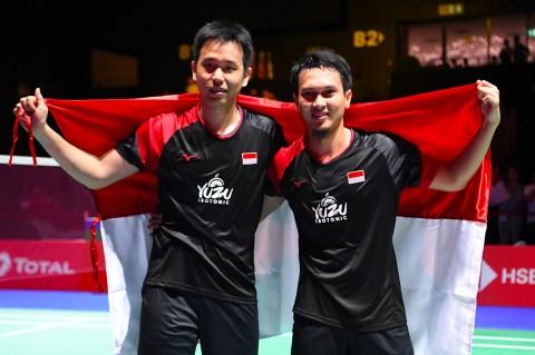 Ahsan/Hendra Rebut Gelar Kejuaraan Dunia