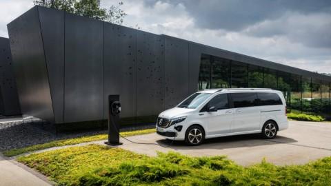 Mercedes-Benz EQV, MPV Premium Full Listrik Pertama di Dunia