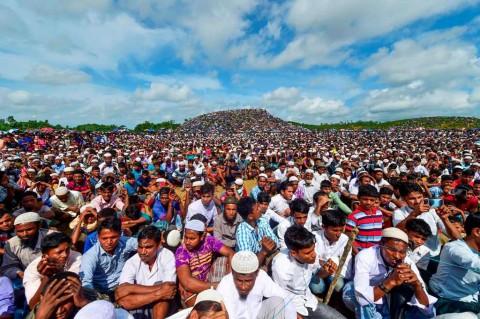 Etnis Rohingya Peringati Hari Genosida di Bangladesh