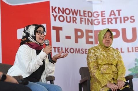 Telkomsel Dorong Literasi Digital Lewat Aplikasi T-PERPUS