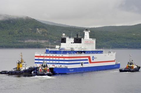 PLTN Terapung Rusia Berlayar Melintasi Kutub Utara