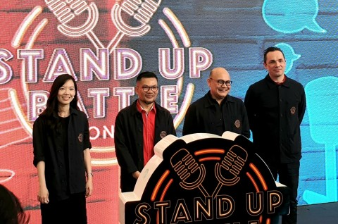 Gandeng SingTel, Telkomsel Gelar Kompetisi Stand-Up Comedy Online