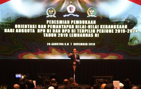 Presiden Kritik DPR Lamban Buat Undang-undang
