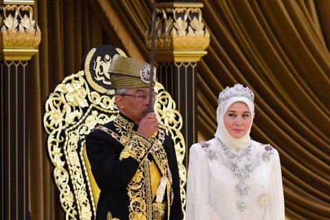 Raja Malaysia Bawa Empat Poin Penguatan Kerja Sama