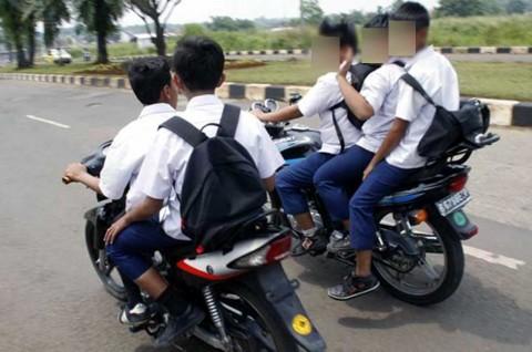 Ini Alasan Anak di 'Bawah Umur' Dilarang Keras Bawa Motor