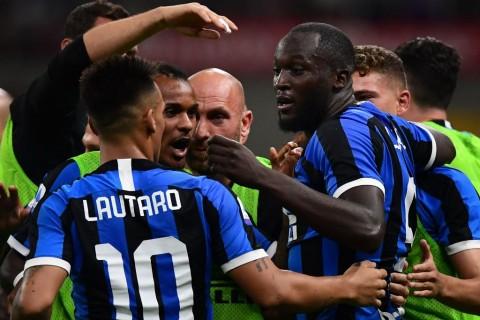 Hasil Liga Italia Pekan Pertama: Inter Perkasa, Milan Tersungkur