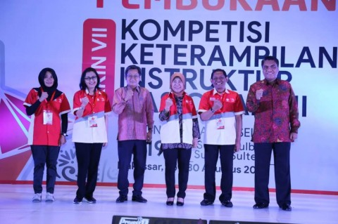Instruktur LPK Sulsel Ikuti Kompetisi Keterampilan Instruktur Nasional
