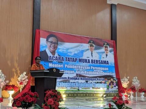 Kepulauan Tanimbar Ditantang Jadi Kabupaten Ramah Anak