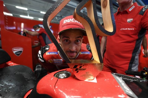Dovizioso Masih Simpan Kekesalan Usai Terjatuh di Silverstone