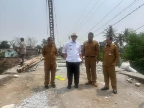 Wahidin Minta Pembangunan Tiga Jembatan di Tangerang Dipercepat