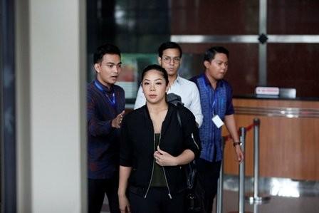 KPK Periksa Putri Setya Novanto