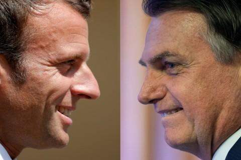 Brasil akan Terima Bantuan G7 Jika Macron Menarik Ucapannya