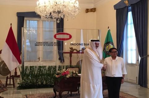 RI Usulkan Kerangka Perjanjian Ekonomi dengan Negara Teluk