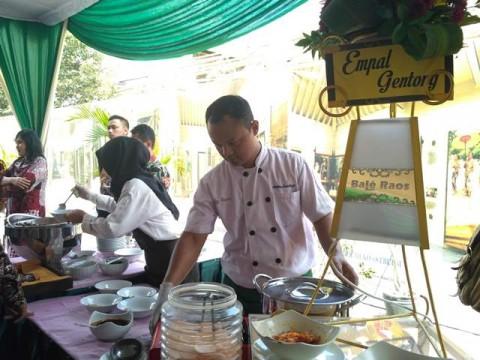 Raja Malaysia Dijamu Makanan Khas Yogyakarta