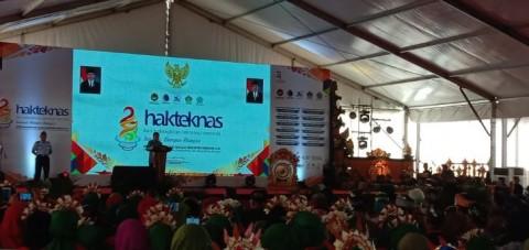 Wapres 'Sentil' BPPT Saat Hadiri Hakteknas di Bali
