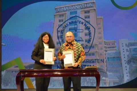 Maranatha Puji OSC Medcom.id Saring Mahasiswa Unggulan