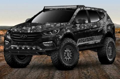 Hyundai Santa Fe Offroad Concept Khusus Medan Ekstrim