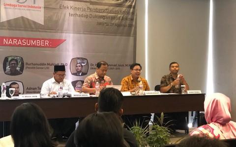 Kinerja KPK Memengaruhi Dukungan ke Jokowi