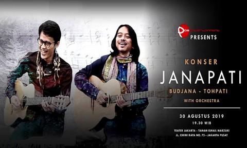 Dewa Budjana dan Tohpati akan Gelar Konser di TIM